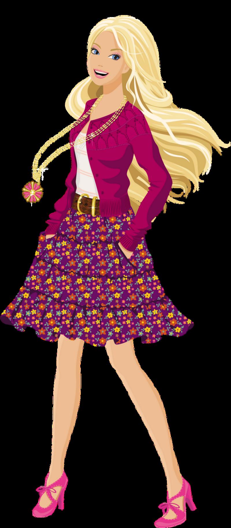 Barbie PNG Image