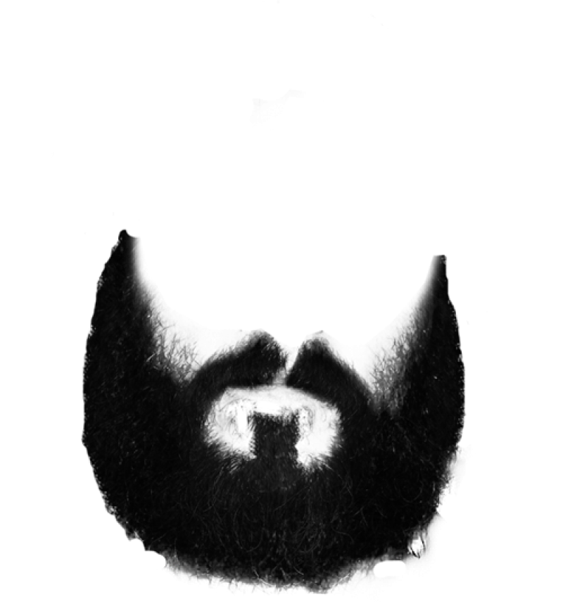 Beard and Moustache PNG Image