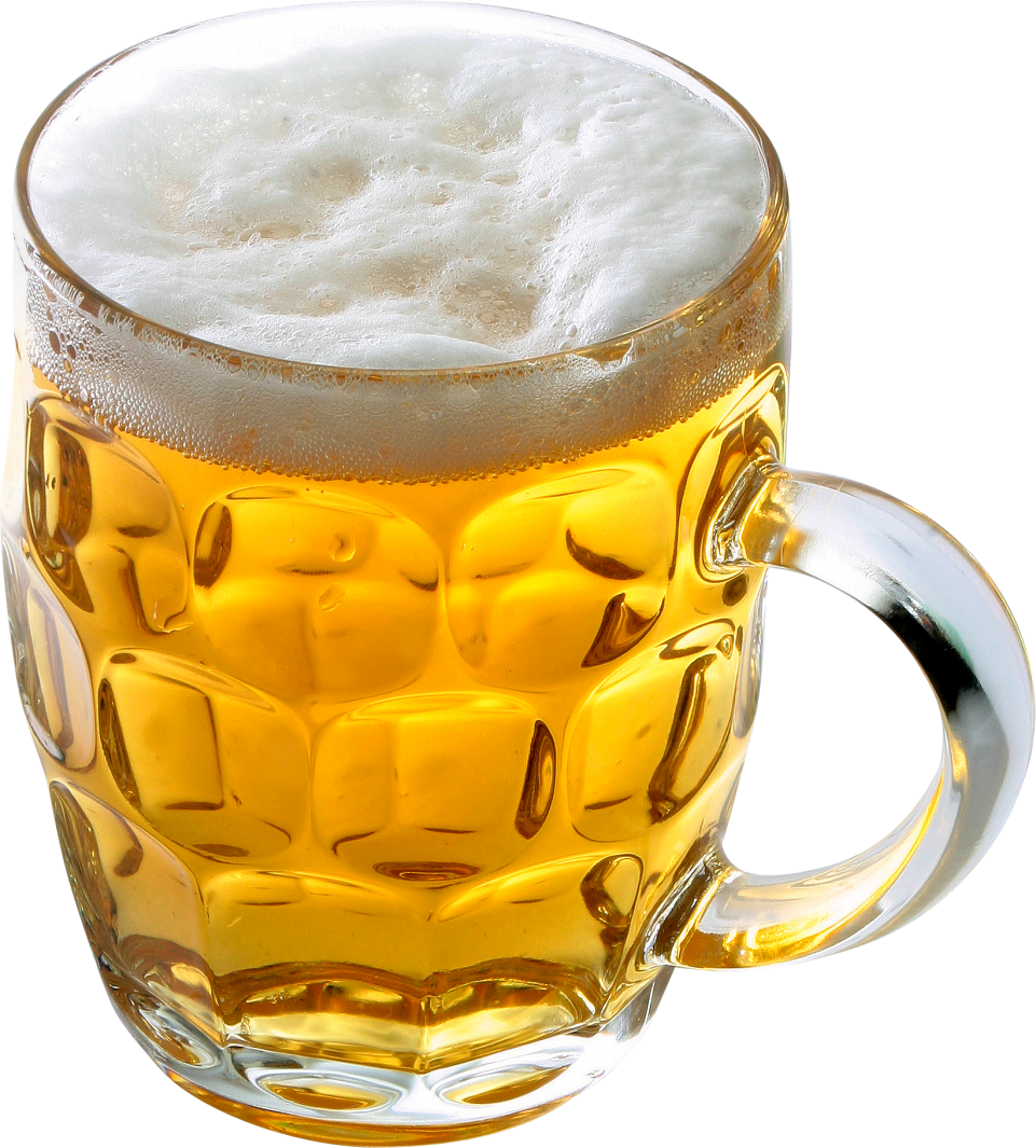 Beer in glass PNG Image