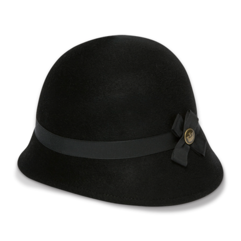 Black Ladies Hat PNG Image