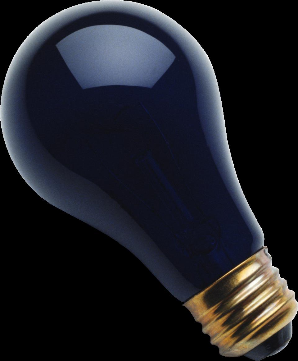 Black Lamp PNG Image