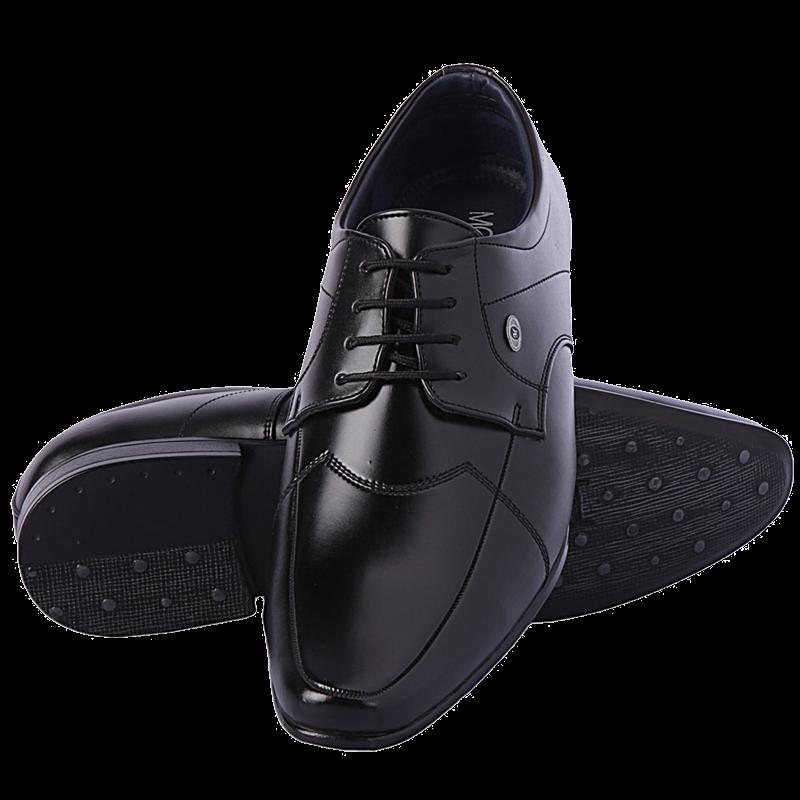 Black Men Shoes PNG Image
