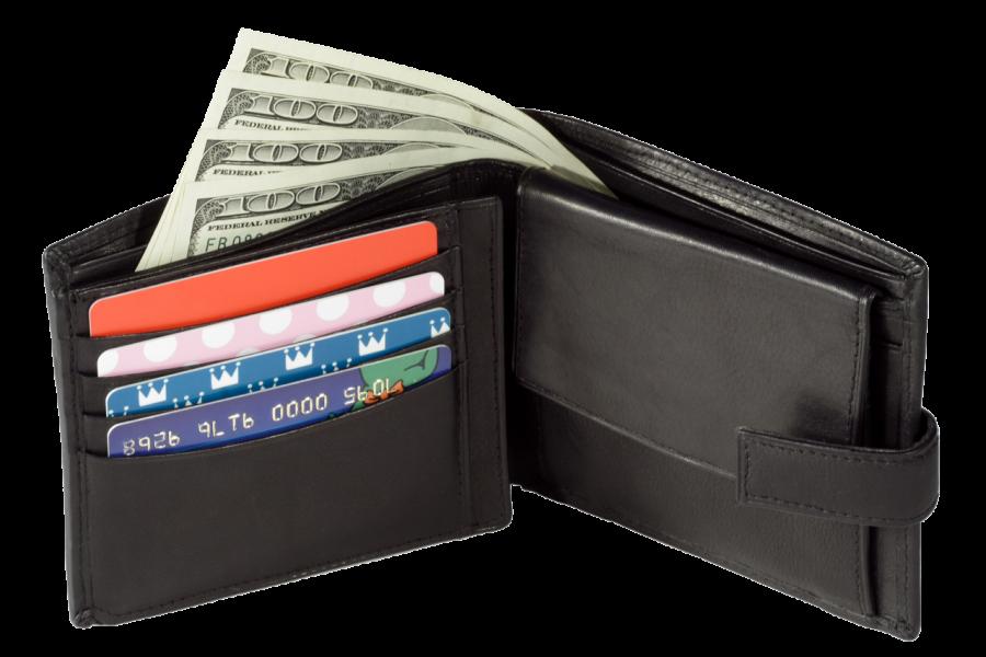 Black Wallet PNG Image