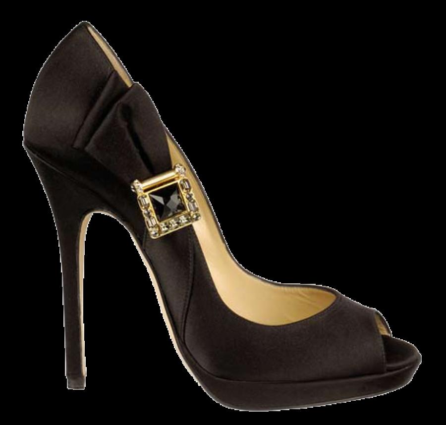 Black Women Shoe PNG Image
