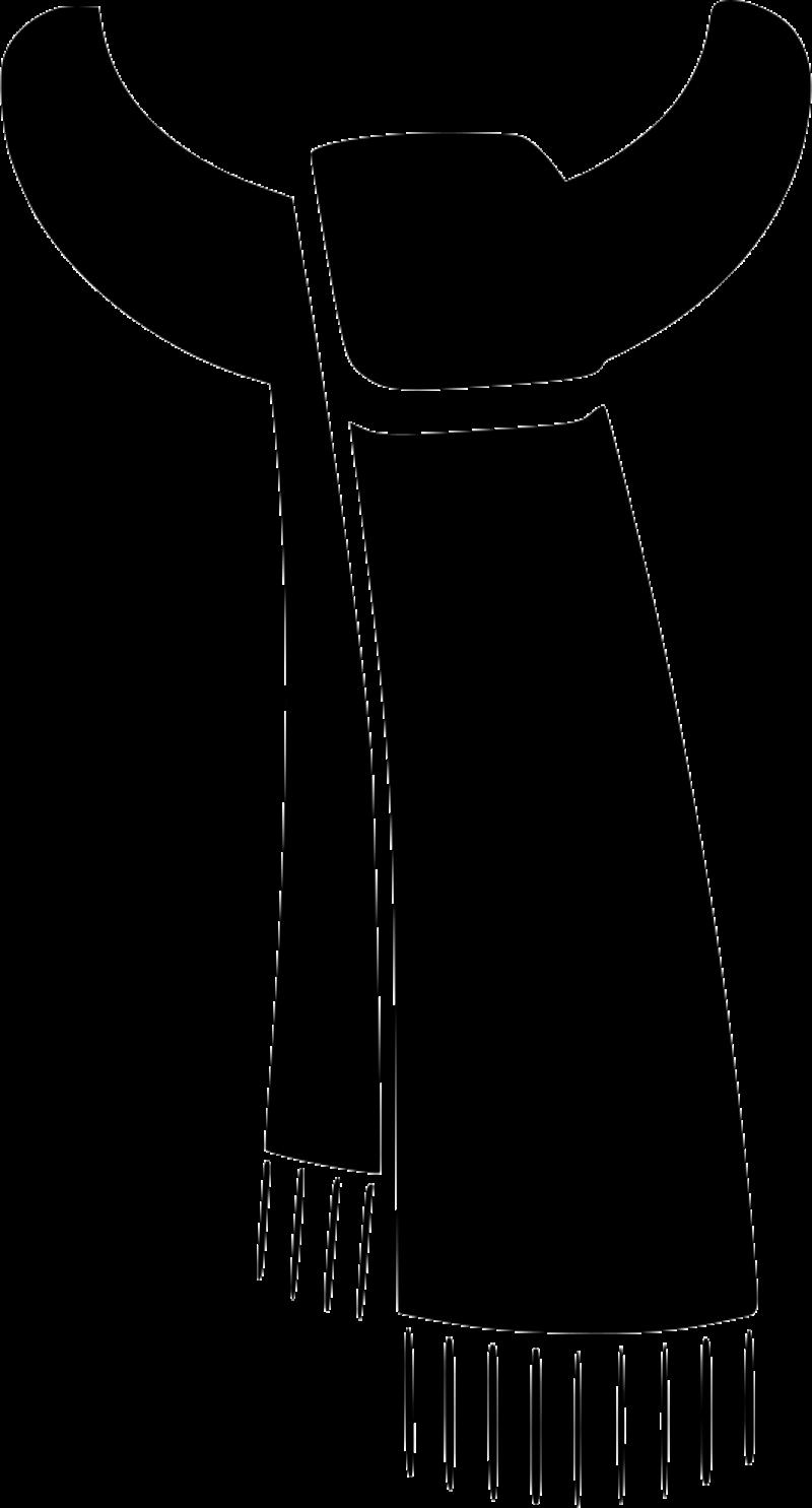 BlackScarf PNG Image
