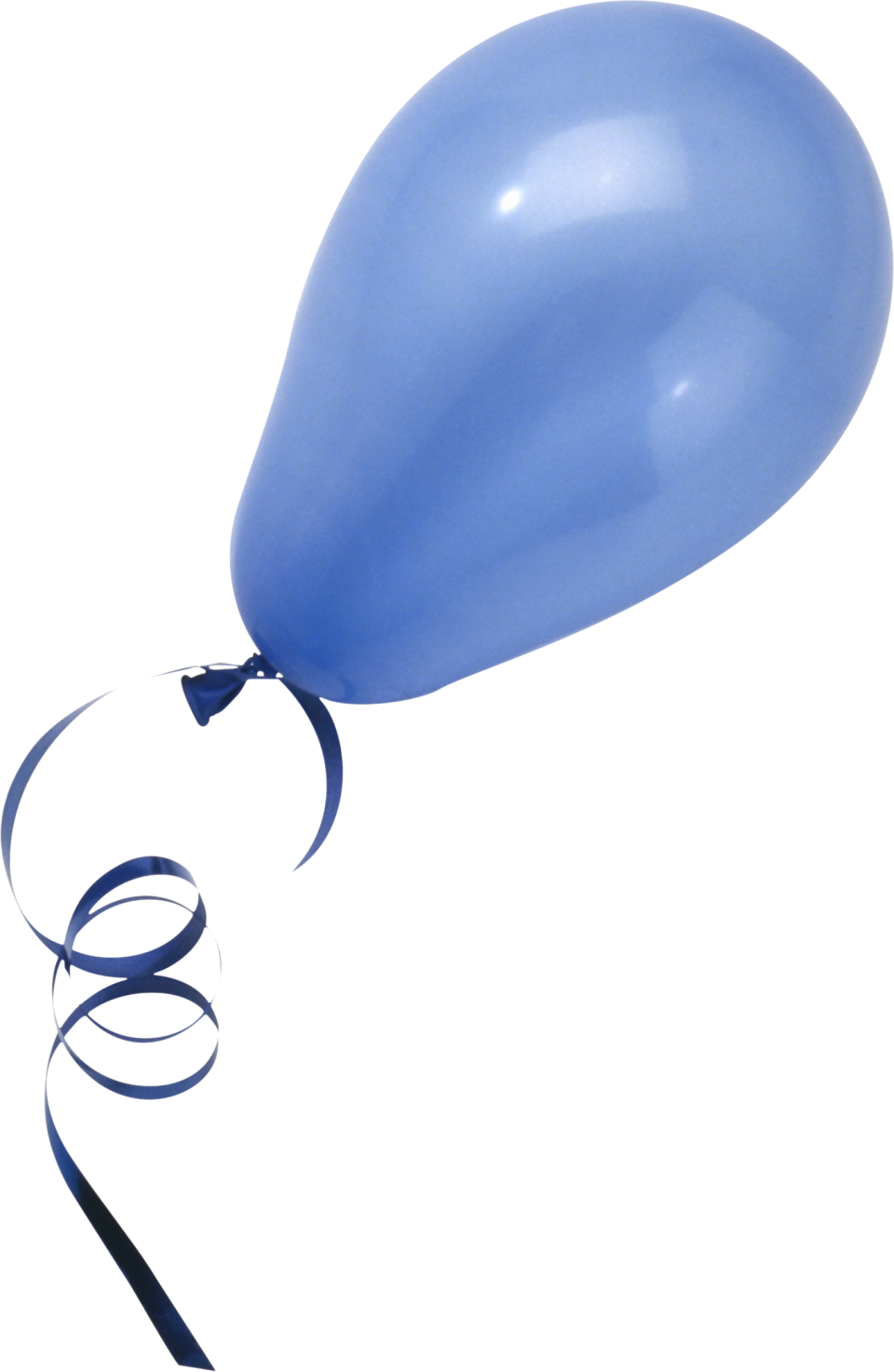 Blue Balloon PNG Image