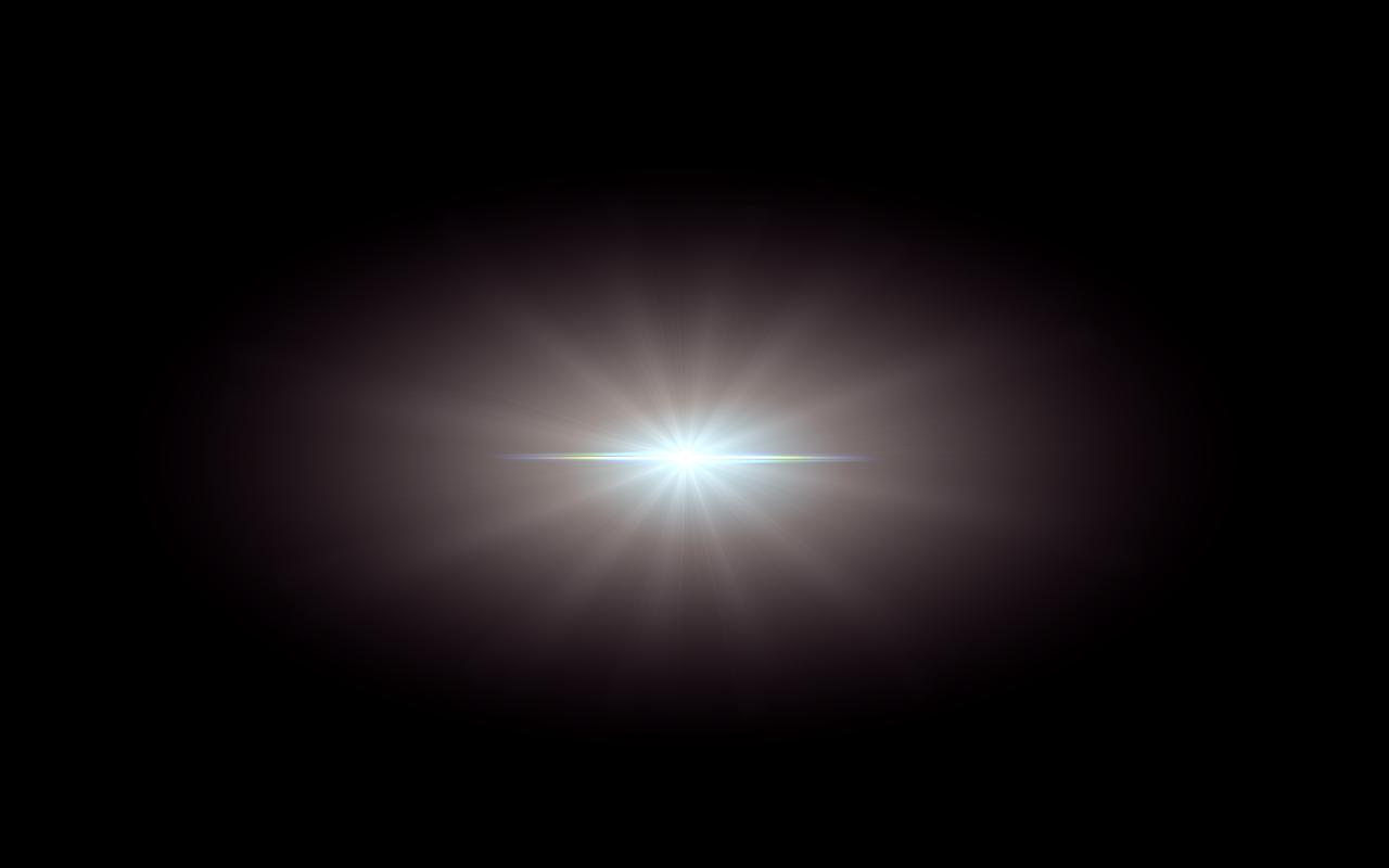 Blue Center Lens Flare PNG Image - PurePNG | Free ...