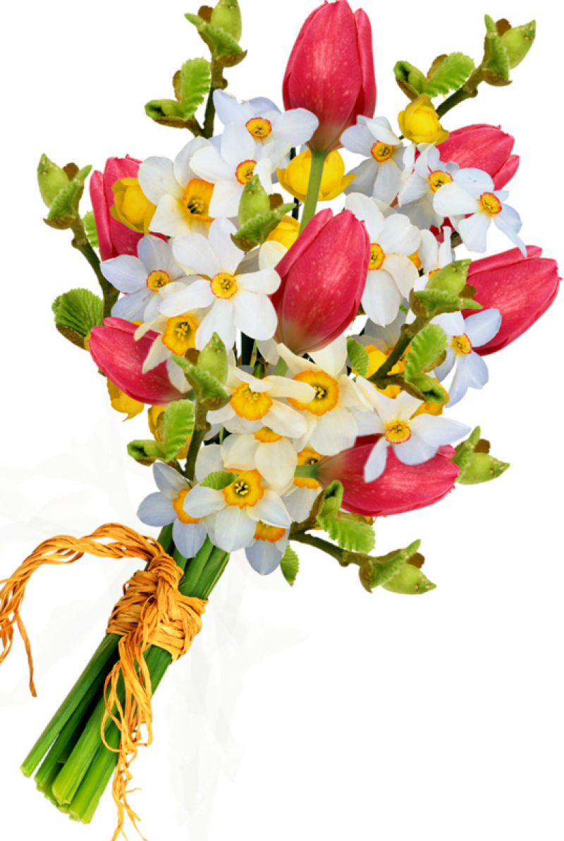 Bouquet Of Flowers PNG Image