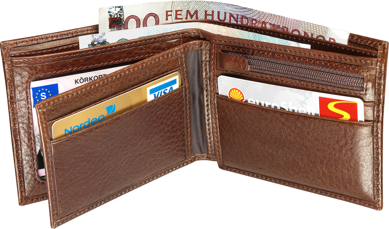 Brown Wallet PNG Image