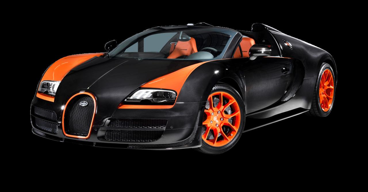 Bugatti Veyron 16.4 Grand Sport Vitesse Car PNG Image