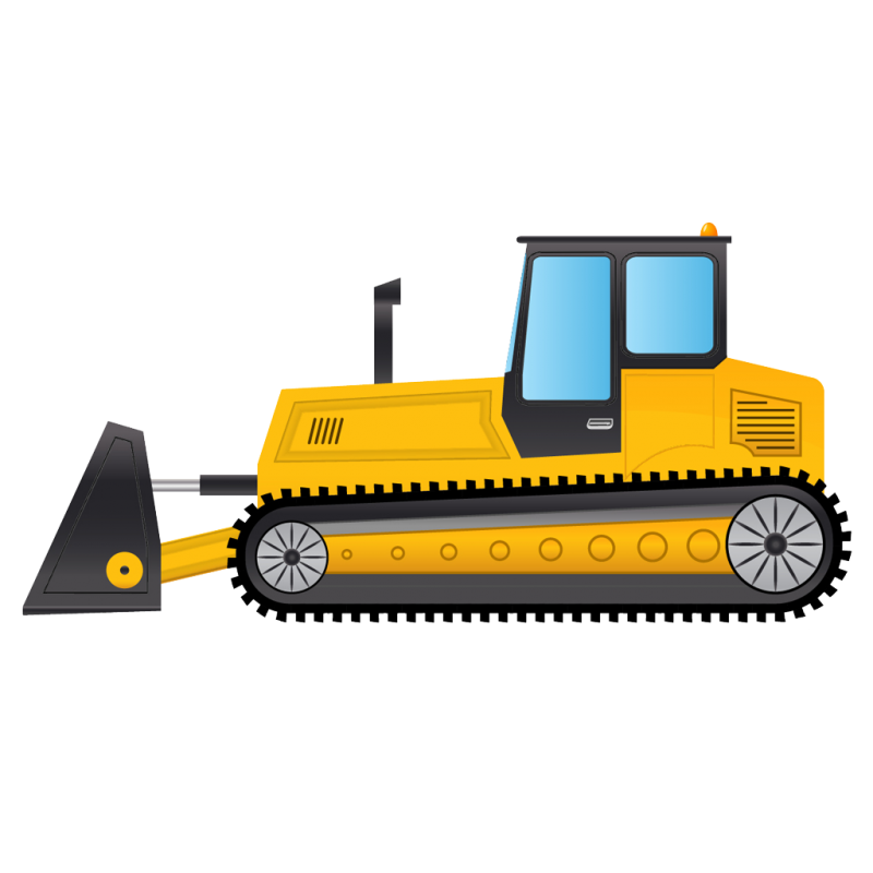 Bulldozer B PNG Image