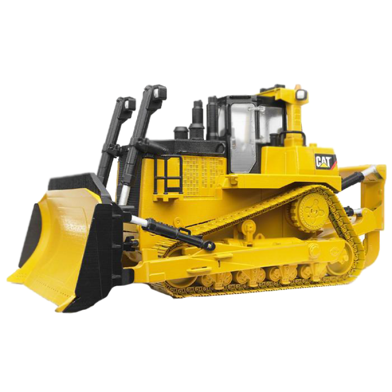 Bulldozer Cat PNG Image
