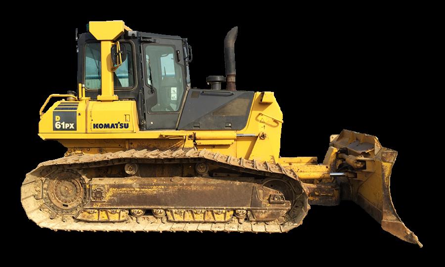 Bulldozer Crawler PNG Image