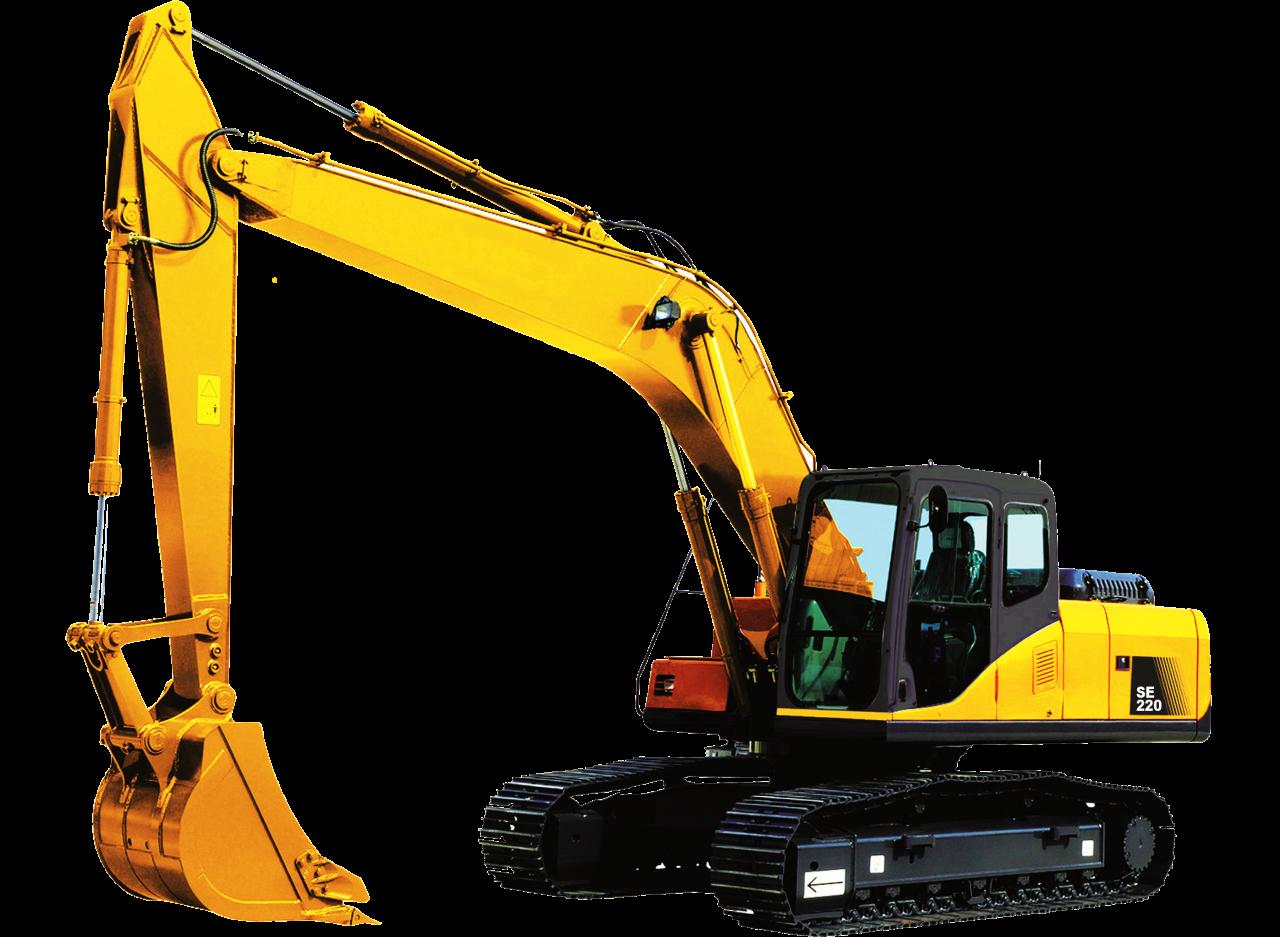 Bulldozer Excavator PNG Image