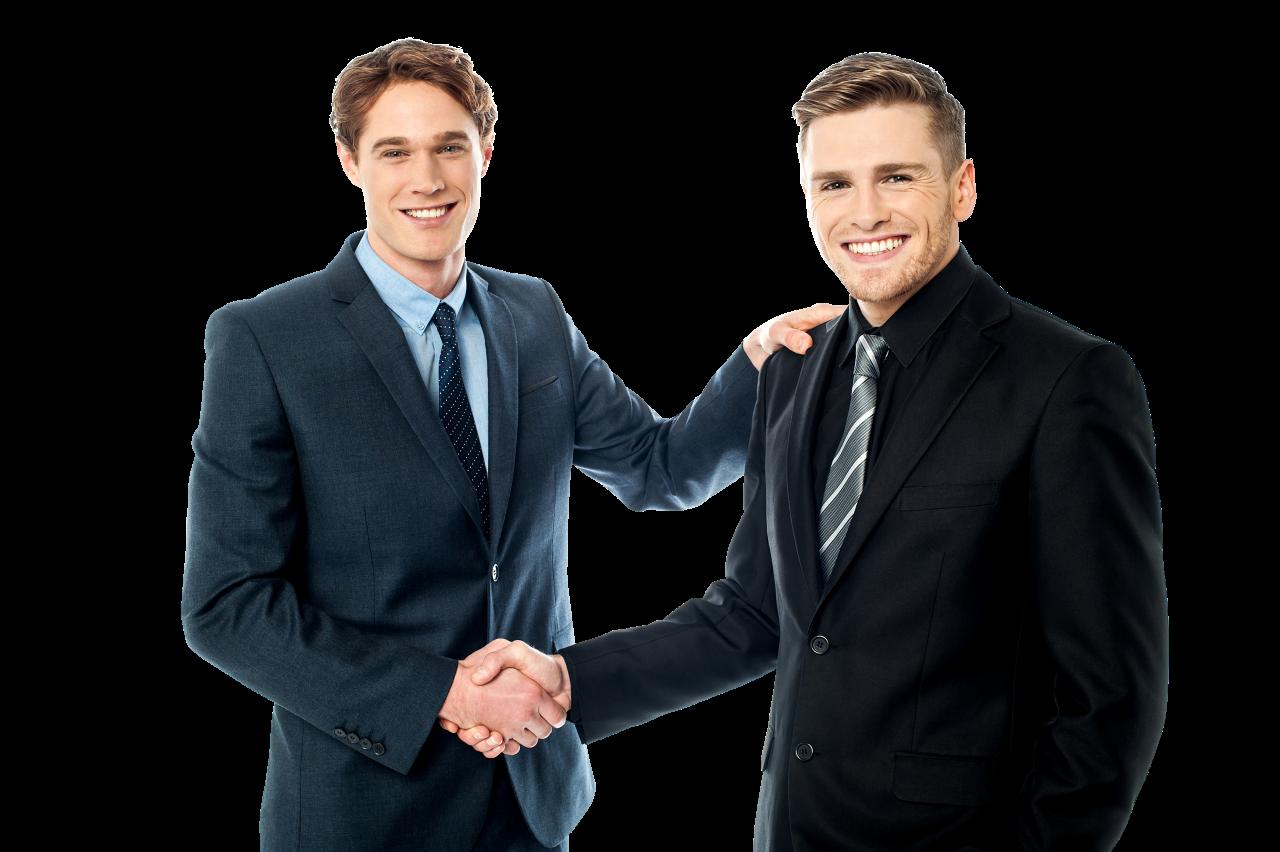 Business Handshake PNG Image