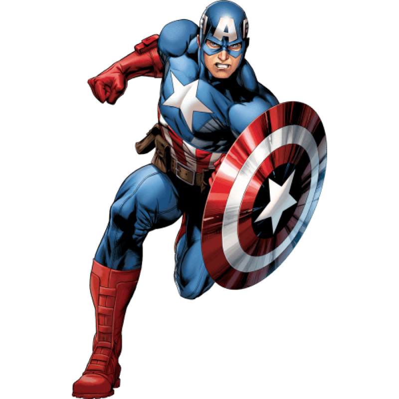 Captain America PNG Image