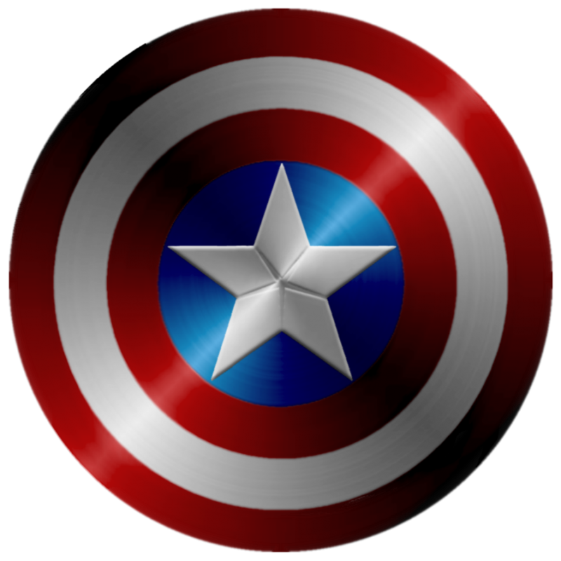 Captin America Shield PNG Image