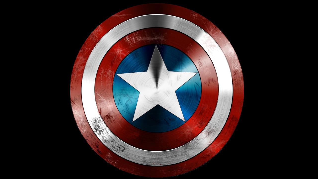 Captin America Shield PNG Image