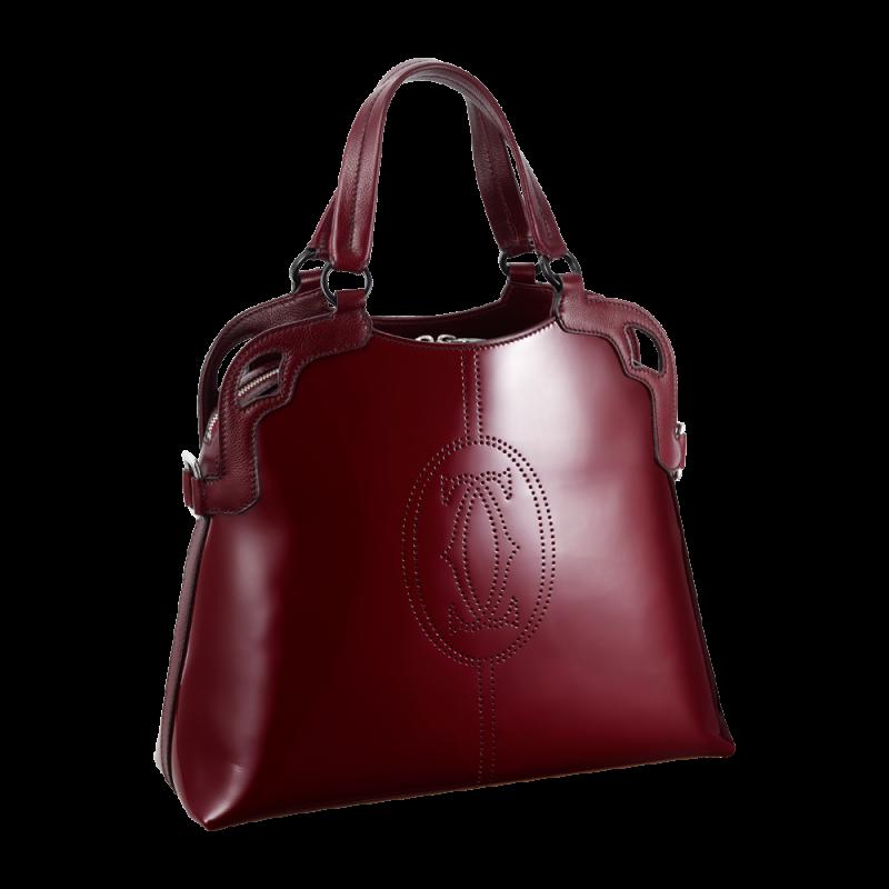 Cartier Red Women Bag PNG Image