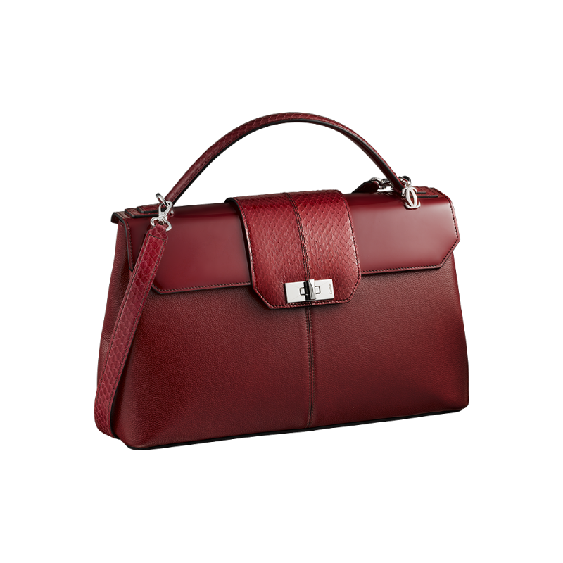 Cartier Red Women Hand Bag PNG Image