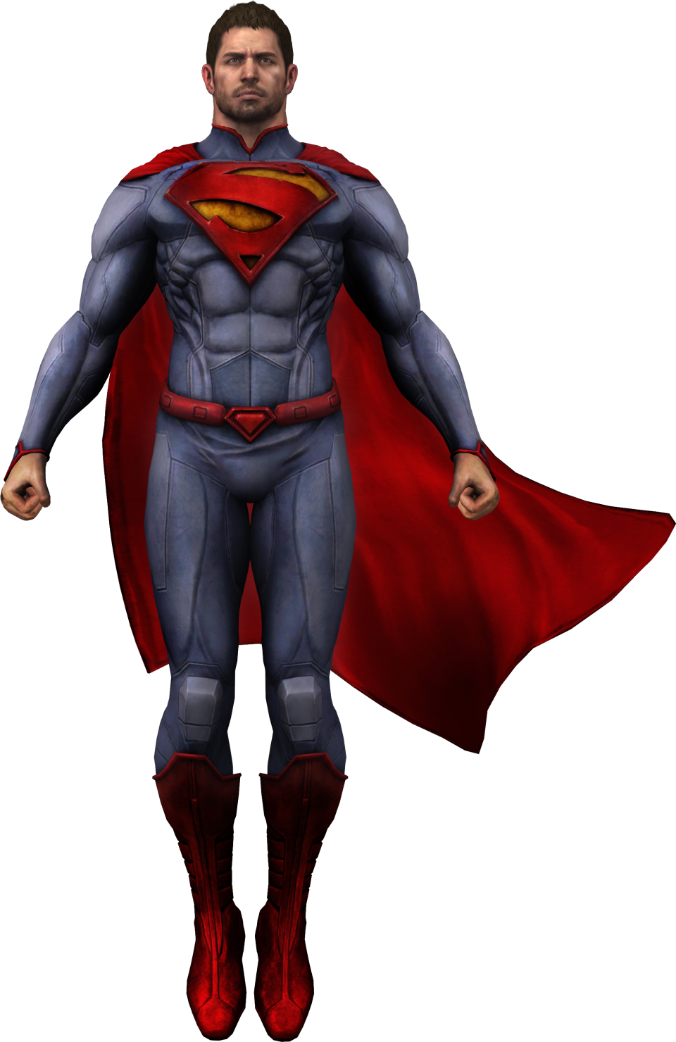 Chris Redfield Super Man PNG Image