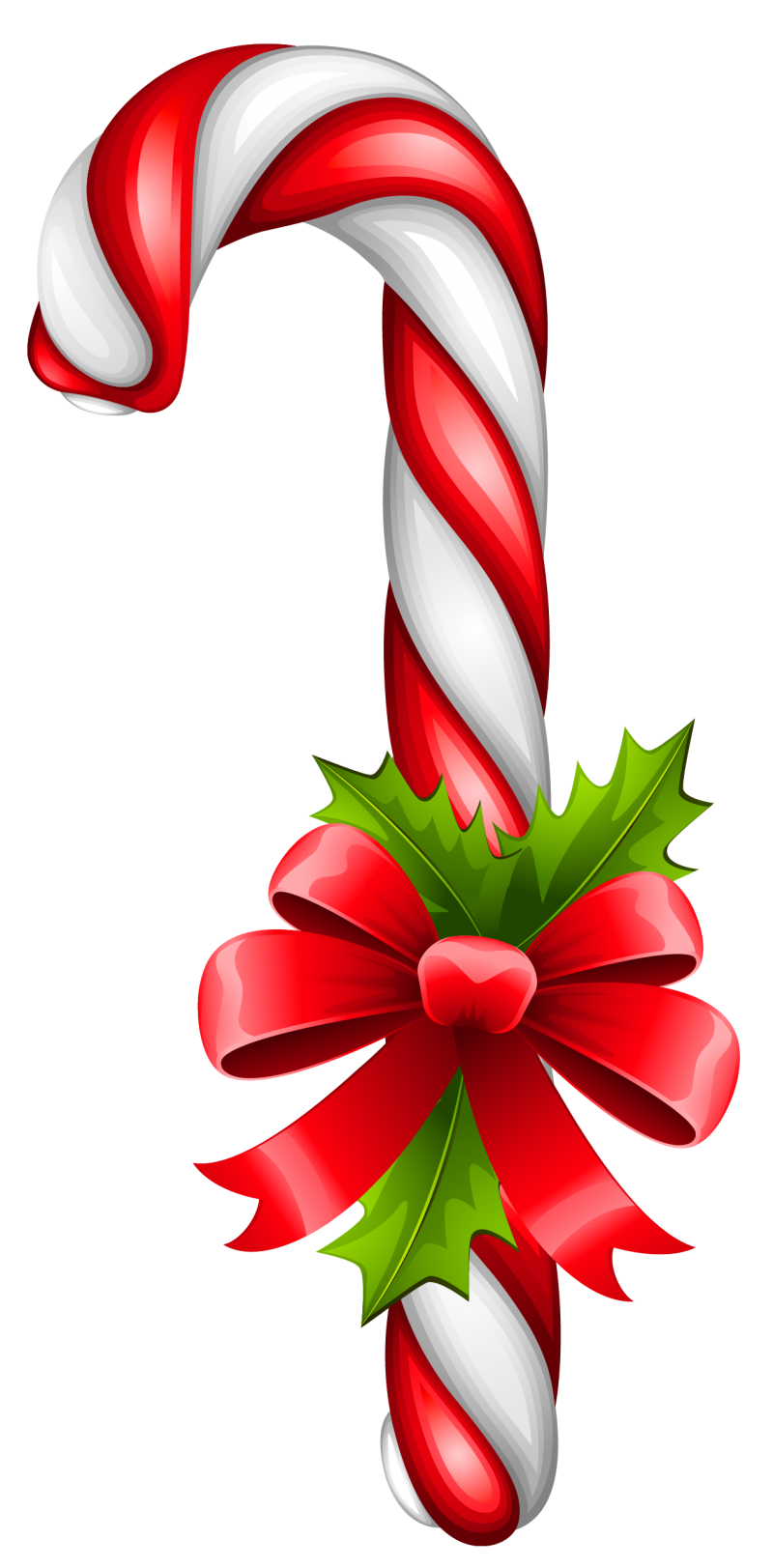 Decorative Christmas Stick PNG Image