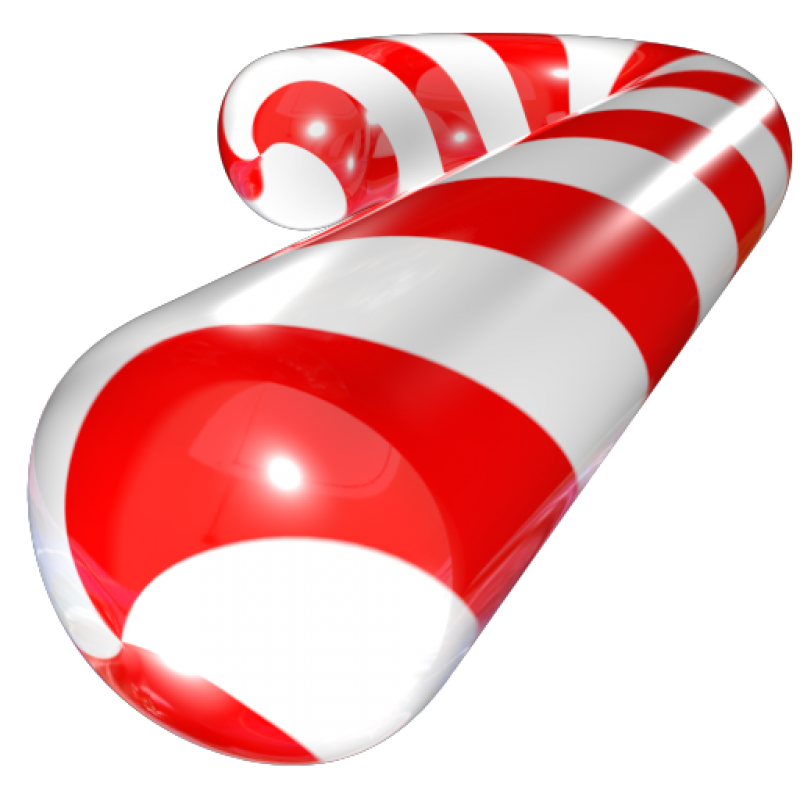 Christmas Candy PNG Image