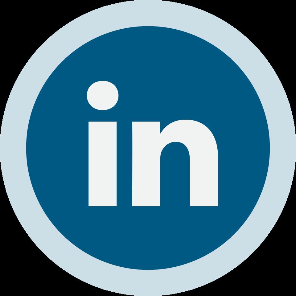 Circled Linkedin Logo Png Image Purepng Free Transparent