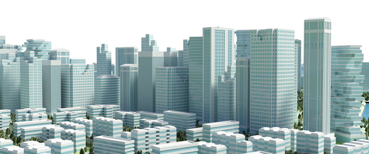 City Buildings PNG Image