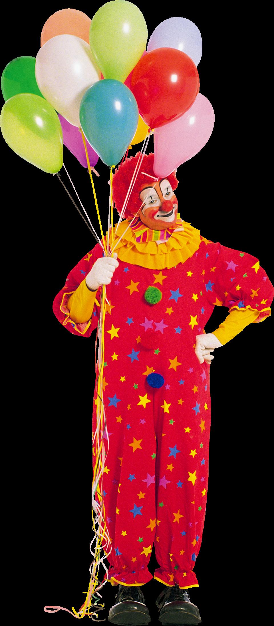 Clown PNG Image