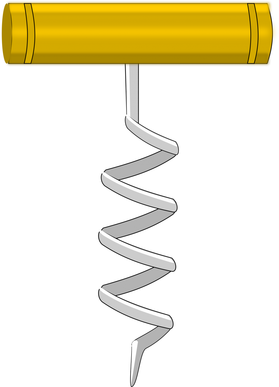 Corkscrew PNG Image