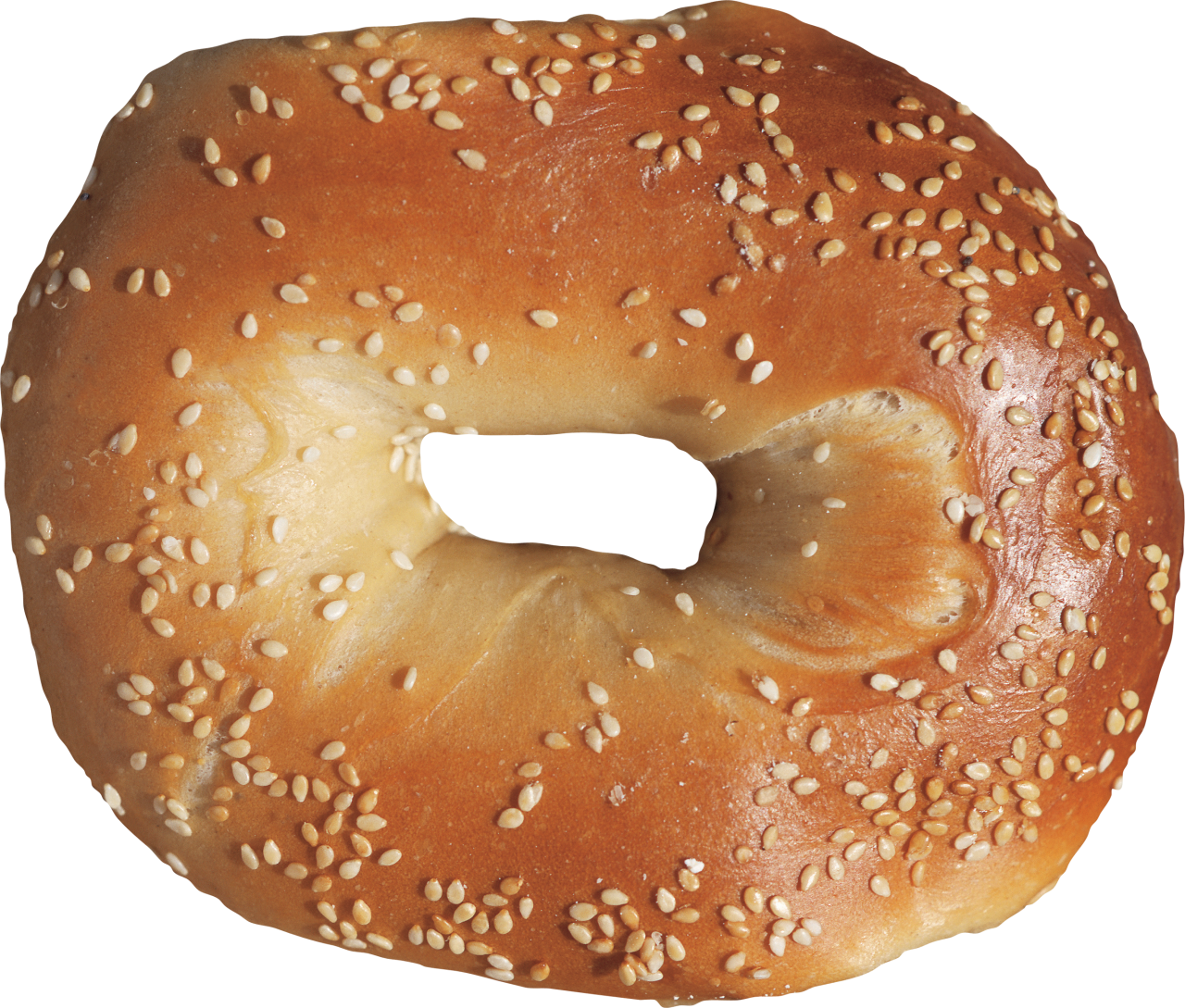 Delicious Bagel PNG Image