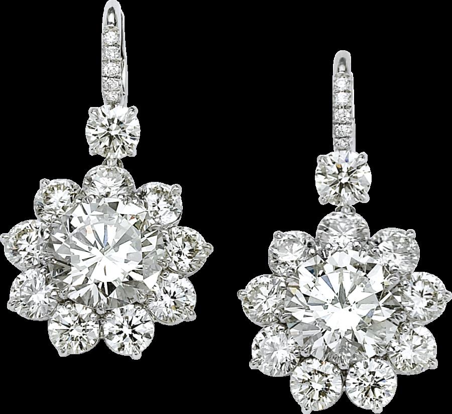 Diamond Earring PNG Image