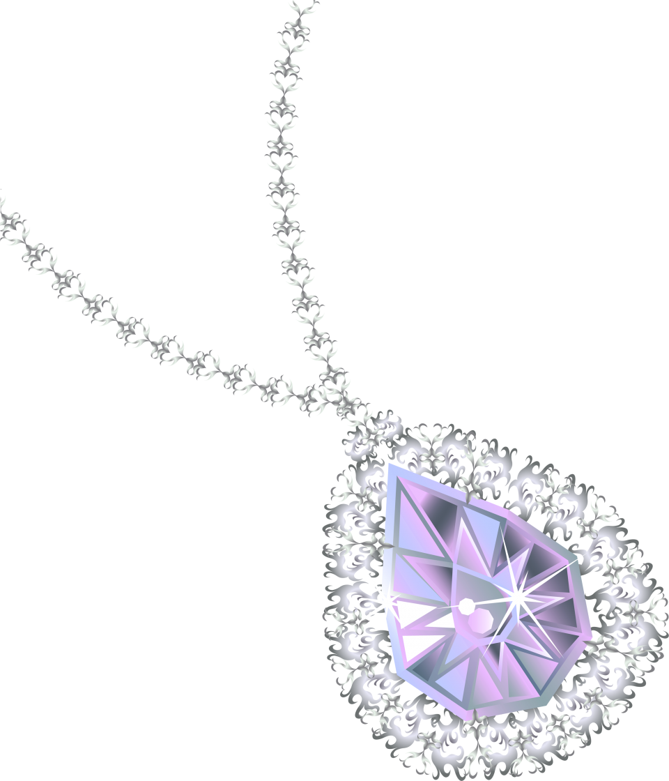 Diamond Necklace PNG Image