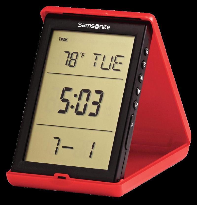 Digital Alarm Clock PNG Image