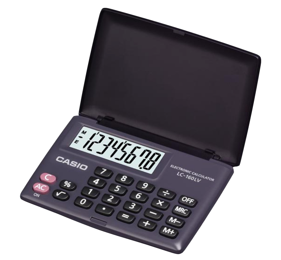 Digital Calculator PNG Image