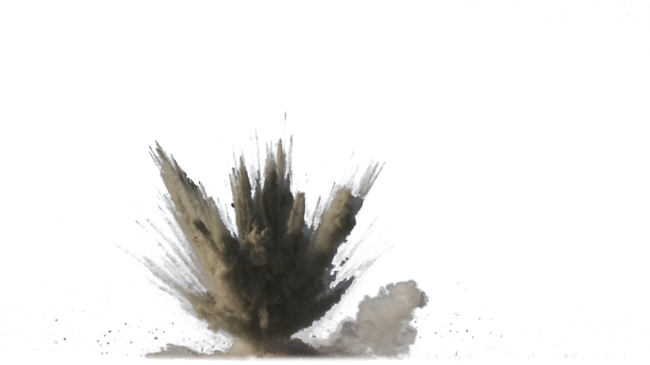 Dirt Explosion PNG Image