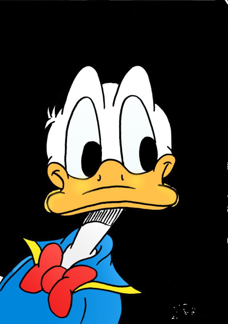 Donald Duck  Curious PNG Image