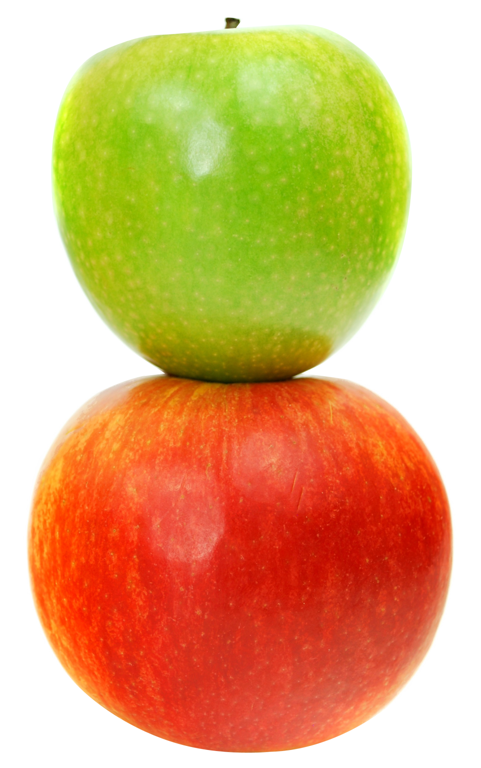 Double  Apples PNG Image
