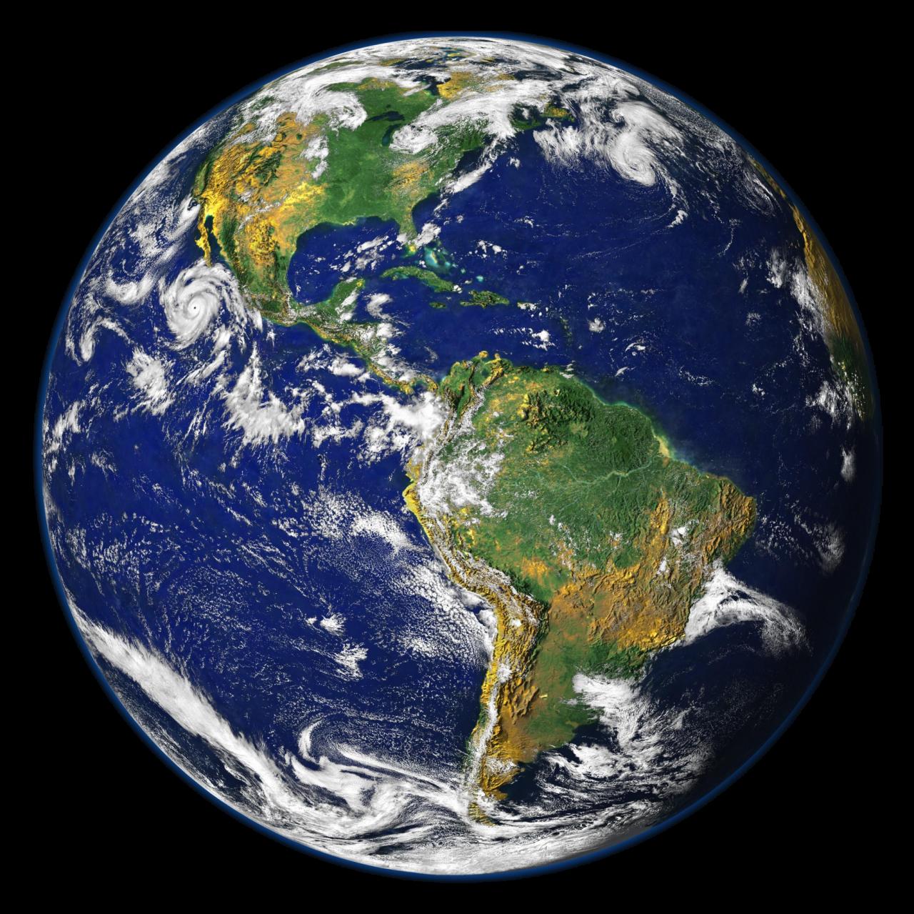 Satellite image of Europe and Africa globe - £25.50