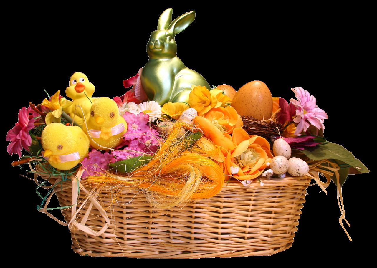 Easter Basket PNG Image