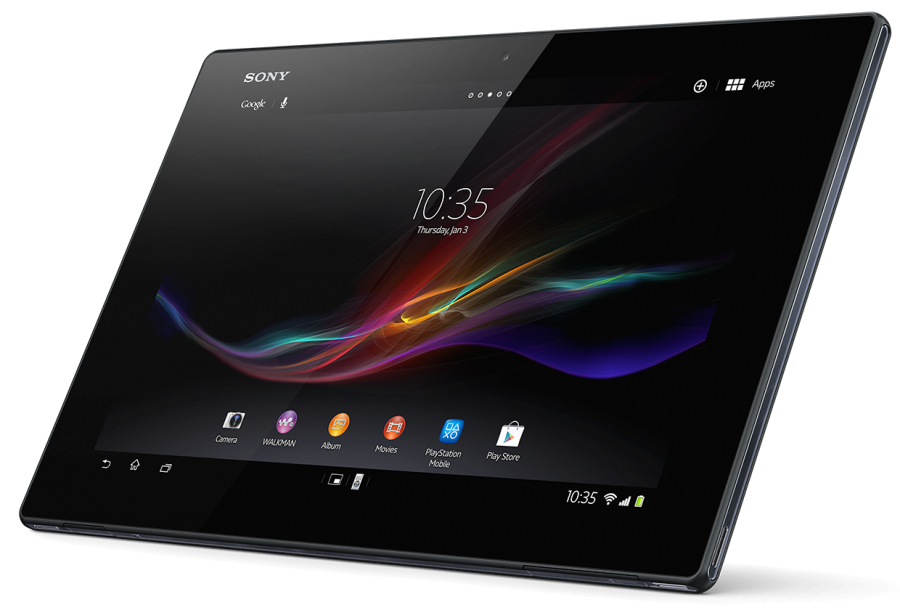Experia Tablet PNG Image
