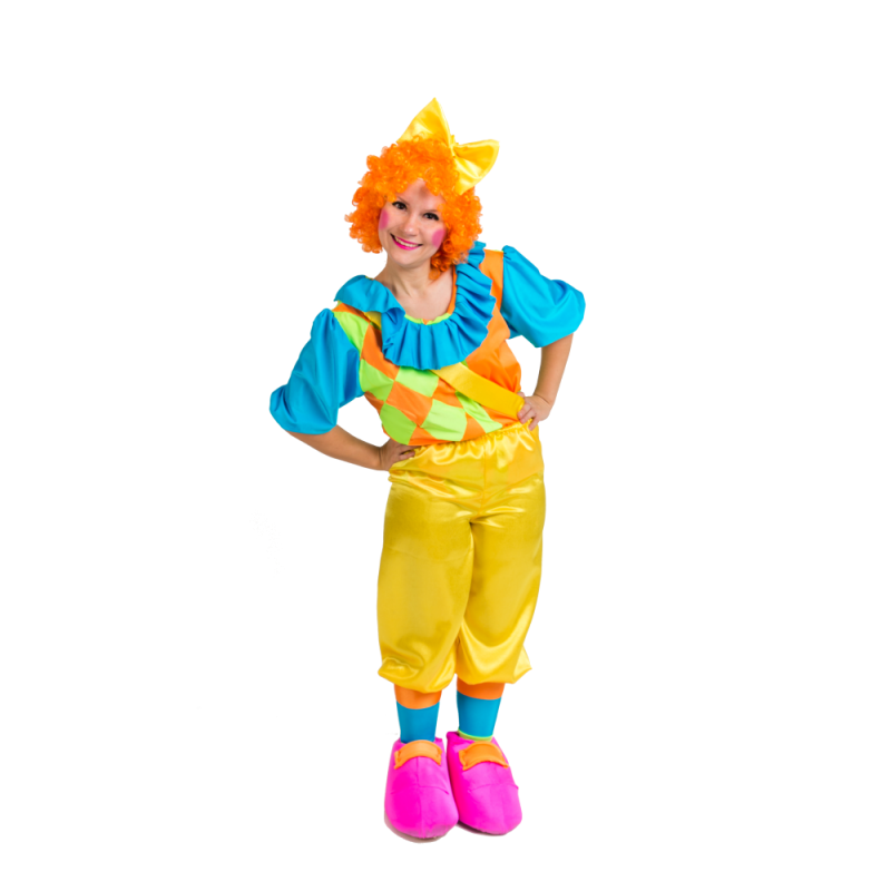 Female Clown's PNG Image