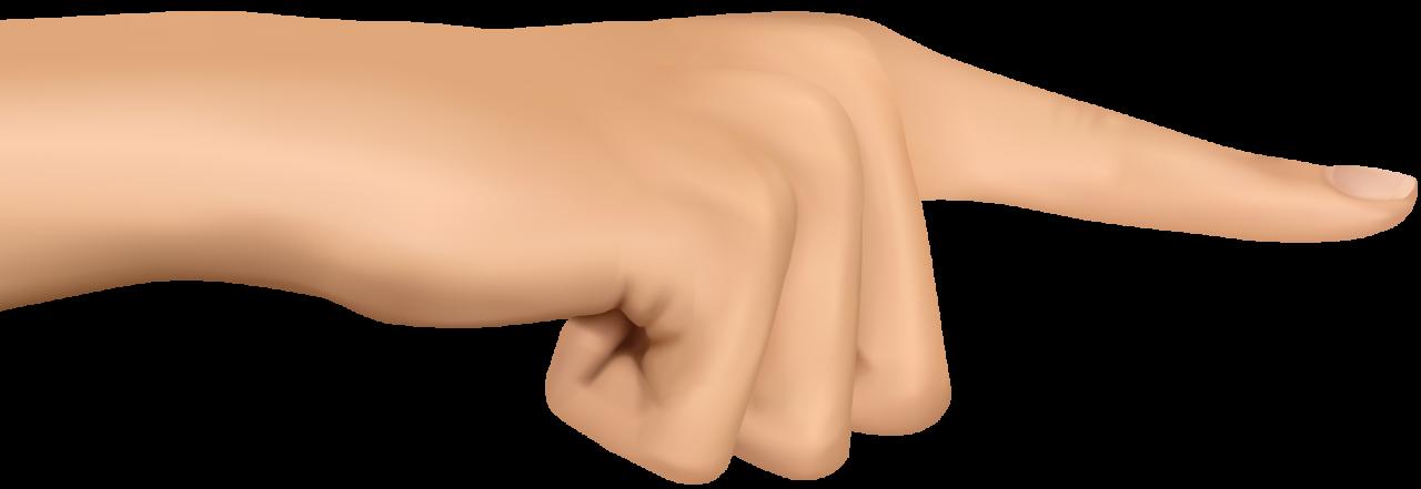 Finger PNG Image