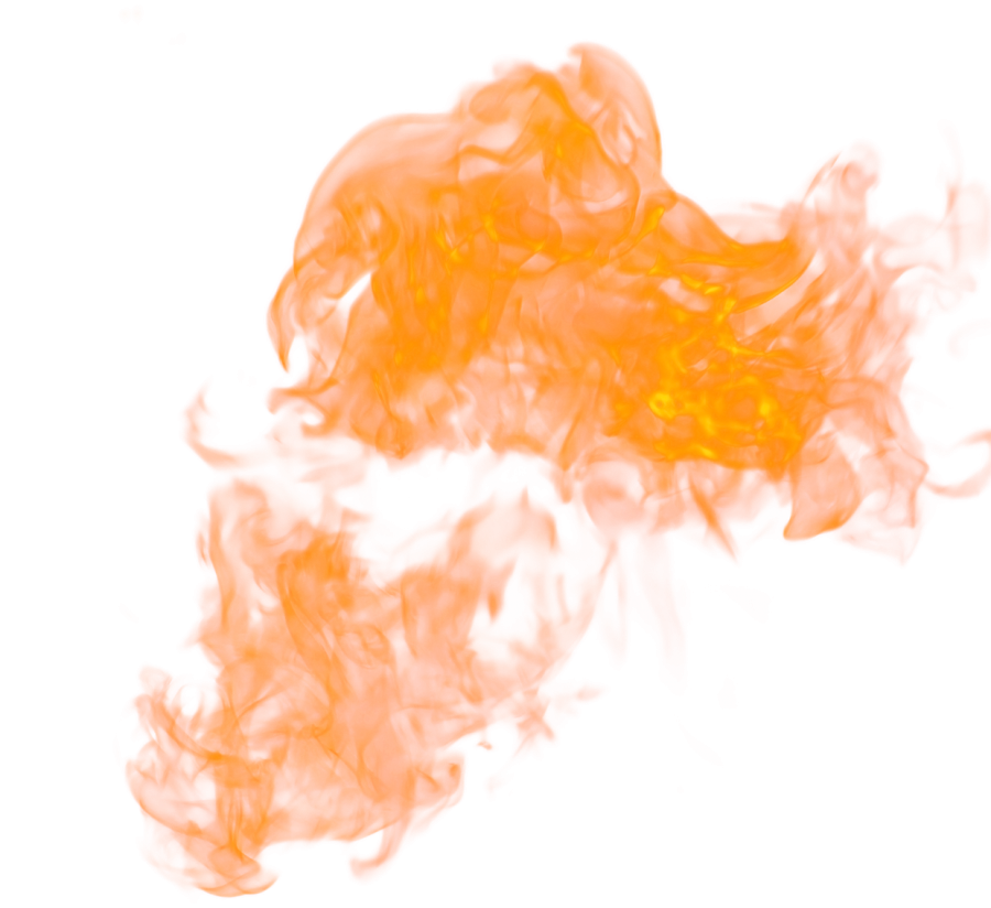Hot Fire Flame  PNG Image