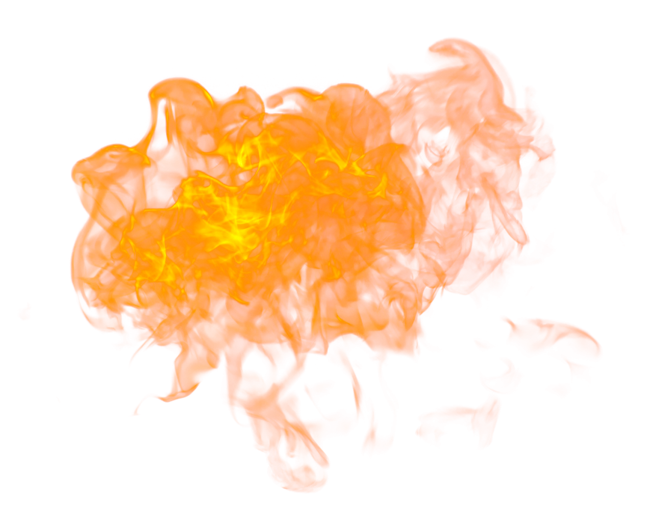 Big Fire Flaming PNG Image