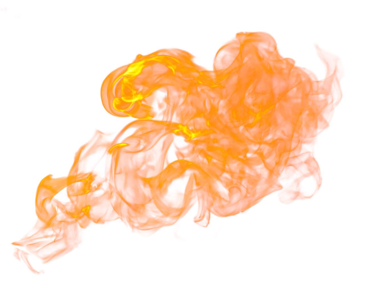 Flaming Fire Burn PNG Image