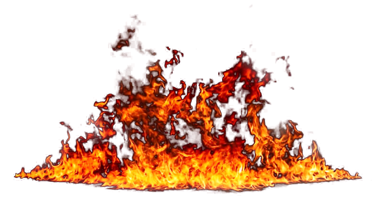 Flaming Fire Blaze PNG Image