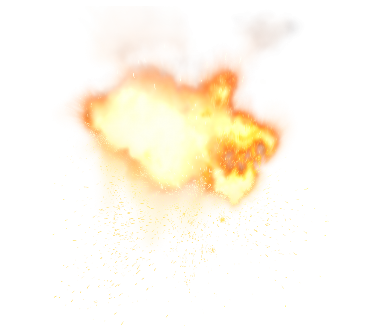 Sparkle Fire  PNG Image
