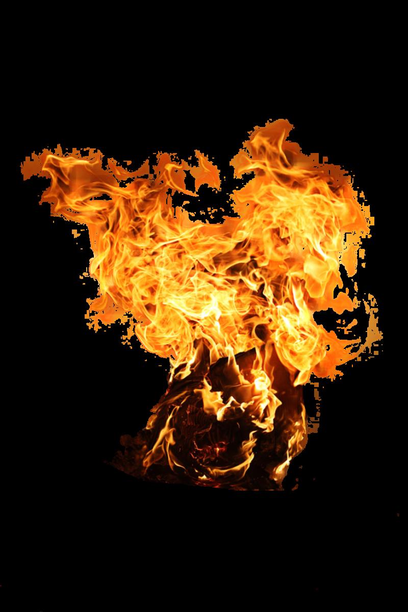 Flaming Paper PNG Image